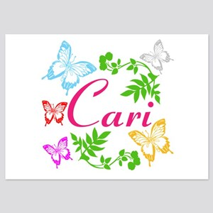 Personalize Name Dancing Butterflies Invitations