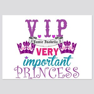 VIP Princess Personalize Invitations