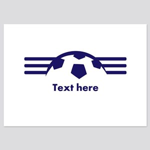Custom Soccer Design Invitations