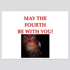 4th of july 5x7 Flat Cards
