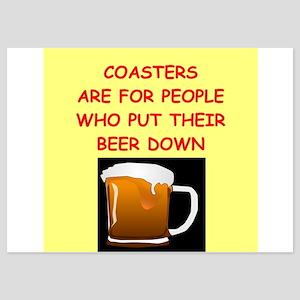 beer drinker 5x7 Flat Cards