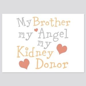 Personalize Kidney Donor 5x7 Flat Cards