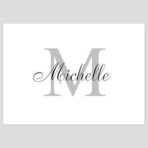 Personalized Monogram Name Invitations