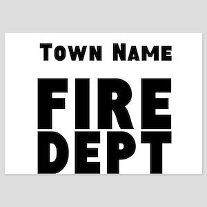 Fire Department Invitations