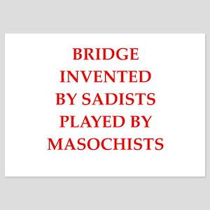 bridge 5x7 Flat Cards
