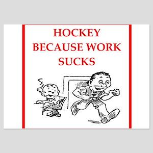 hockey 5x7 Flat Cards
