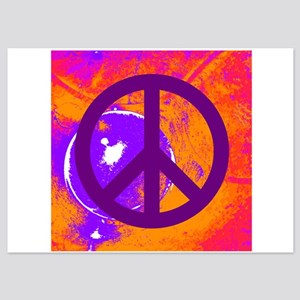 Purple Peace Invitations