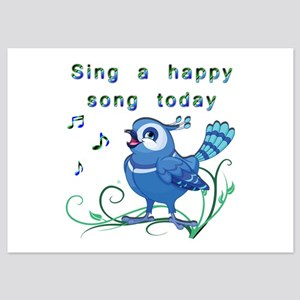 Sing a Happy Song- 5x7 Flat Cards