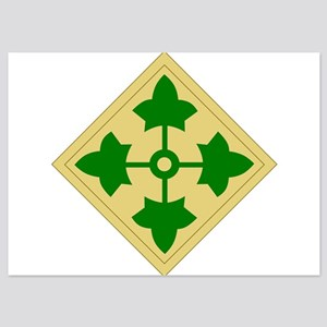 4th Infantry Division Invitations
