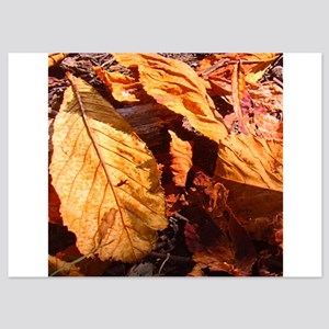Fall leaves in Wales Invitations