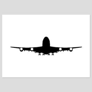 Airplane aviation 5x7 Flat Cards