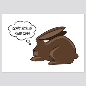 Funny Bunny 5x7 Flat Cards