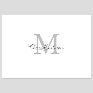 Monogrammed Duvet Cover Invitations