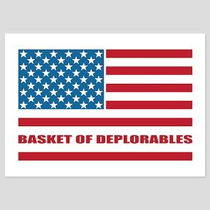 Basket of Deplorables 5x7 Flat Cards