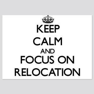 Keep Calm and focus on Relocation Invitations