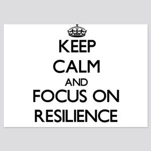 Keep Calm and focus on Resilience Invitations
