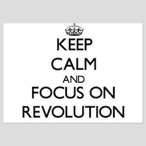 Keep Calm and focus on Revolution Invitations