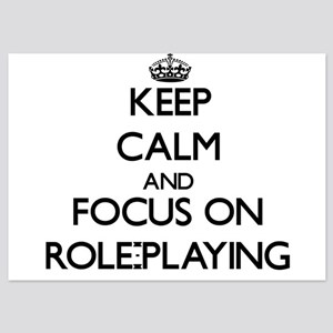 Keep Calm and focus on Role-Playing Invitations