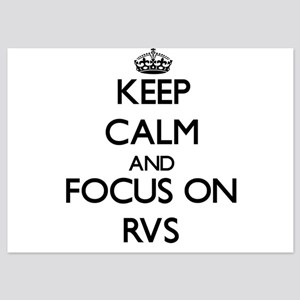 Keep Calm and focus on Rvs Invitations