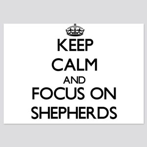 Keep Calm and focus on Shepherds Invitations