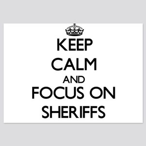 Keep Calm and focus on Sheriffs Invitations