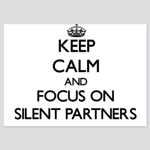 Keep Calm and focus on Silent Partners Invitations
