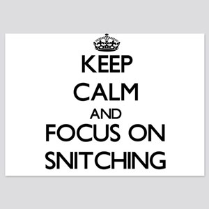 Keep Calm and focus on Snitching Invitations