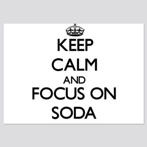 Keep Calm and focus on Soda Invitations