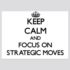Keep Calm and focus on Strategic Moves Invitations