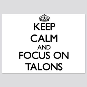 Keep Calm and focus on Talons Invitations