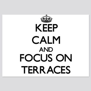 Keep Calm and focus on Terraces Invitations