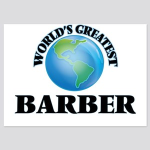 World's Greatest Barber Invitations