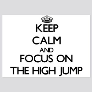 Keep Calm by focusing on The High Jump Invitations