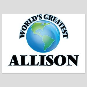 World's Greatest Allison Invitations
