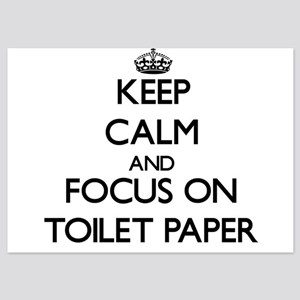 Keep Calm by focusing on Toilet Paper Invitations
