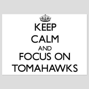 Keep Calm by focusing on Tomahawks Invitations