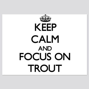 Keep Calm by focusing on Trout Invitations