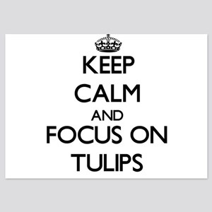 Keep Calm by focusing on Tulips Invitations