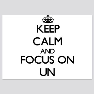 Keep Calm by focusing on Un Invitations