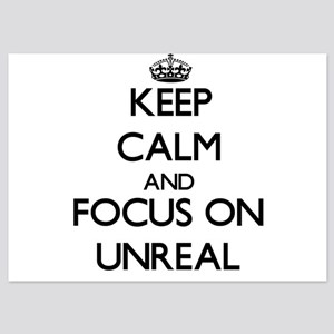 Keep Calm by focusing on Unreal Invitations