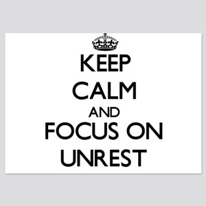 Keep Calm by focusing on Unrest Invitations