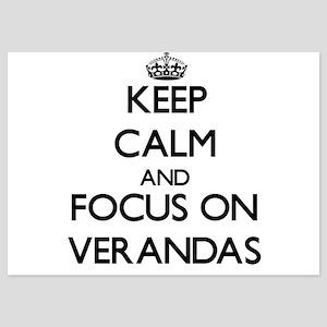 Keep Calm by focusing on Verandas Invitations