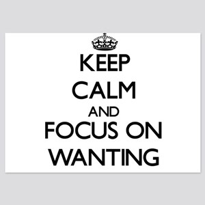 Keep Calm by focusing on Wanting Invitations