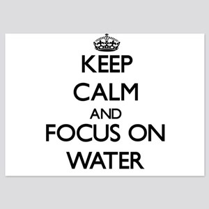 Keep Calm by focusing on Water Invitations