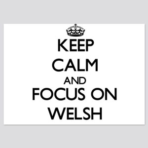 Keep Calm by focusing on Welsh Invitations
