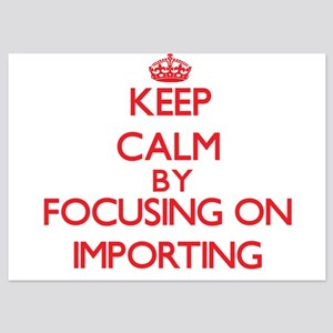 Keep Calm by focusing on Importing Invitations