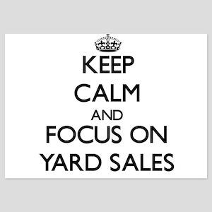 Keep Calm by focusing on Yard Sales Invitations