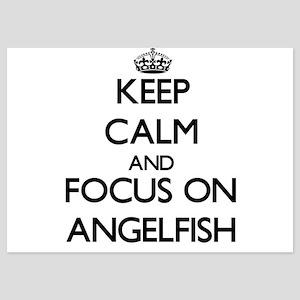 Keep Calm by focusing on Angelfish Invitations