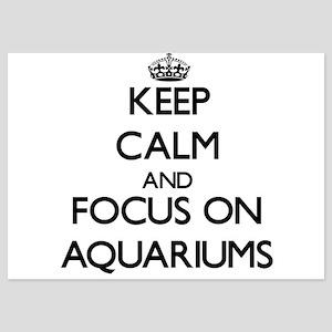 Keep Calm by focusing on Aquariums Invitations