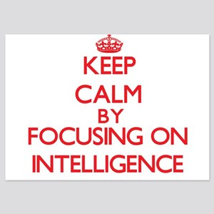 Keep Calm by focusing on Intelligence Invitations